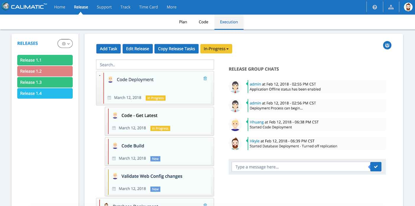 CALIMATIC RM (Release Management)